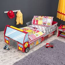 Shop KidKraft Fire Truck Red Toddler Bed At Lowes.com Blue City Cars Trucks Transportation Boys Bedding Twin Fullqueen Mainstays Kids Heroes At Work Bed In A Bag Set Walmartcom For Sets Scheduleaplane Interior Fun Ideas Wonderful Toddler Boy Locoastshuttle Bedroom Find Your Adorable Selection Of Horse Girls Ebay Mi Zone Truck Pattern Mini Comforter Free Shipping Bedding Set Skilled Cstruction Trains Planes Full Fire Baby Suntzu King