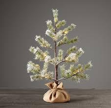 Faux Norway Pine Starlit Flocked 2 Tree 59