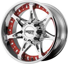 100 Black And Red Truck Rims MO961 Wheel Pros
