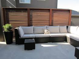 Slatted Privacy Screen Panels Traditional Patio Calgary by