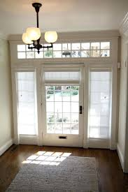Front Door Side Window Curtain Panels by Front Doors Front Door Ideas Front Door Sidelights Front Door