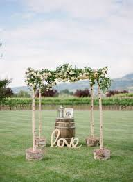 View And Save Ideas About Rustic Wedding Arch Chuppah