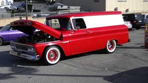 100 Chevrolet Panel Truck Custom Apache YouTube