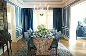 Formal Dining Room Curtains Ideas Curtain For Windows Drapery Idea