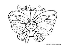 Butterfly Life Cycle Coloring Page Printable Identify Sheet Free Pages