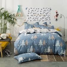 Christmas Tree 100 Cotton 787x905 Duvet Cover Flat Sheet Pillow