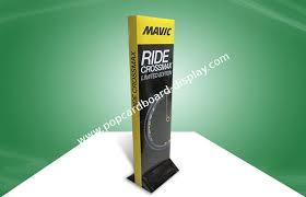 Square Advertising Cardboard Standees Display Custom POP