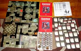 The Dungeons And Dragons Red UnBoxed