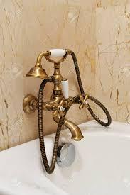 vintage dusche für badezimmer goldene dusche der weinlese mit batteriewasserhahnzubehör vom badezimmer