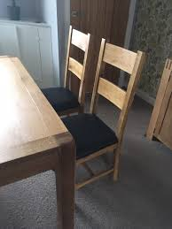 Dining Room Table And 4 Chairs In BB7 Valley For £725.00 For ... Different Aspects Of Oak Fniture All About Fniture And Mattress News Buying Guide Latest Trends Ding Room Table 4 Chairs In Bb7 Valley For 72500 Oak Table Leeds 15000 Sale Shpock With Chairsmeeting 30 Extendable Tables Commercial Used German Standard And Chair Sets Buy Fnituregerman The 1 Premium Solid Wood Furnishings Brand 6 Chairs Set White Rustic Farmhouse Natural Country Amazoncom Desks Childrens Study