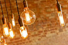 vintage light bulbs home depot antique decorative style brick wall