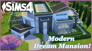 104 Modern Dream House The Sims 4 Mansion 1 3 Build Youtube