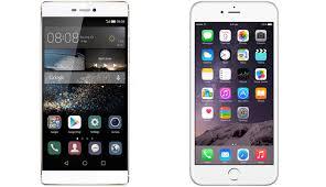 Huawei P8 vs Apple iPhone 6 Smartphone specs parison