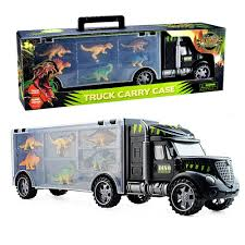 100 Dinosaur Truck Transport Car Carrie Vehicle Toy With 6 S For