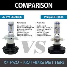 x7 pro led conversion kits headlight bulb upgrade kit with cree