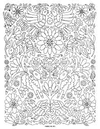 Birds And Blooms Coloring Page