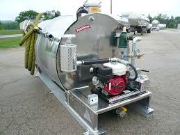 100 Septic Vacuum Trucks For Sale Brenner Tank 600 Gallon Only Service SlideIn Unit