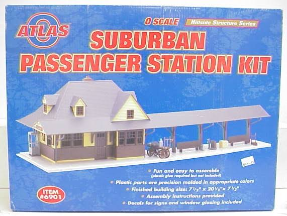 Atlas O 6901 Passenger Station Kit