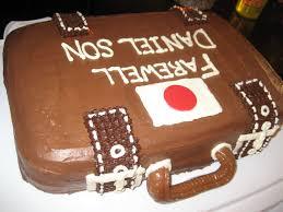 Ashley s Cakery Farewell Suitcase Cake