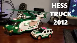 100 Hess Truck 2012 HESS TRUCK Unboxing And Review Christmas 2018 YouTube