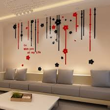 Get Quotations Free Shipping Home Decor High Quality 3D Wall Stickers Flower Crystal Acrylic Living Room