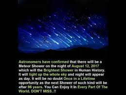 Best Perseid shower in 96 years Nah Astronomy Essentials