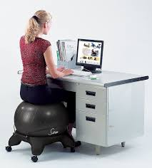 Stability Ball Desk Chair by Amazon Com Sivan Health And Fitness Balance Ball Fit Chair Base