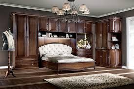 bett schlafzimmer königliches schlafzimmer mit oberschrank schrank verona iv