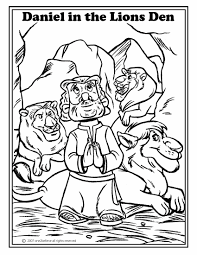 Preschool Bible Story Coloring Pages 2