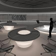 Virtual TV Studio News Sets Collection 7 Studio TV