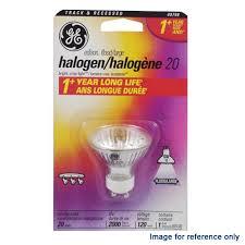 ge 20w 120v bab mr16 gu10 flood halogen light bulb bulbamerica