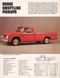 Chrysler 1966 Pickup Dodge Dodge Truck Sales Brochure | It's A Dodge ...