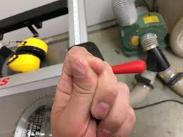 Sawstop Cabinet Saw Used by Embarrassed To Share This But Sawstop Saved My Thumb Today