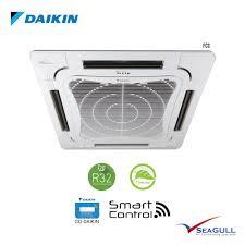 wi fi daikin ceiling cassette fcc series i plasma non inverter 3 0hp r32