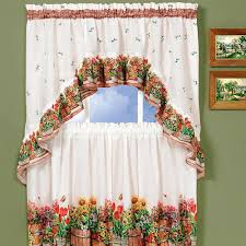 Sears Curtains And Valances by Beautiful Kitchen Curtains At Sears With Drapes And Gallery