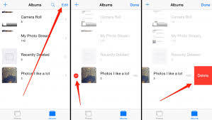 2 Ways to Delete Albums Including s from iPhone iPad