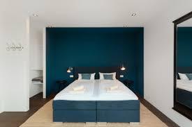 75 schlafzimmer mit blauer wandfarbe ideen bilder april