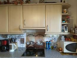 gebrauchte einbauküche mit elektrogeräten in gutem zustand