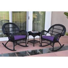 3pc Santa Maria Black Rocker Wicker Chair Set - Purple Cushions 3pc Black Rocker Wicker Chair Set With Steel Blue Cushion Buy Stackable 2 Seater Rattan Outdoor Patio Blackgrey Bargainpluscomau Best Choice Products 4pc Garden Fniture Sofa 4piece Chairs Table Garden Fniture Set Lissabon 61 With Protective Cover Blackbrown Temani Amazonia Atlantic 2piece Bradley Synthetic Armchair Light Grey Cushions Msoon In Trendy For Ding Fabric Tasures Folding Chairrattan Chairhigh Back Product Intertional Caravan Barcelona Square Of Six