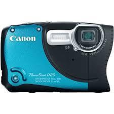 Amazon Canon PowerShot D20 12 1 MP CMOS Waterproof Digital