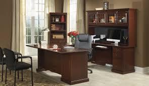 Sauder Palladia Desk With Hutch by Desk Cherry Executive Desk Posiratio Cherry Wood Computer Desk