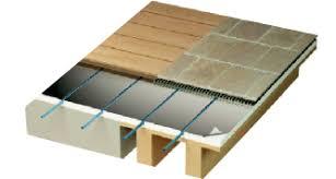 pose plancher chauffant sec caleosol en rénovation et pose
