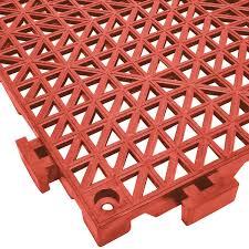 mat 2557 rt poly lok 12 x 12 vinyl interlocking drainage
