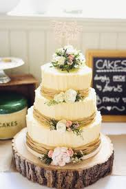 Latest Diy Wedding Cakes Recipes Rustic DIY For