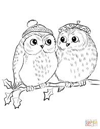 Couple Of Cute Owls