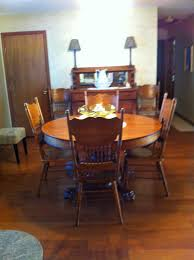 Clawfoot Tub Refinishing St Louis Mo by 150 Year Old Family Antique Round Oak Claw Foot Table And Chairs
