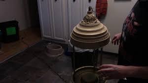 Oil Rain Lamp Motor by Swinging Couple Rain Lamp Repair And Restoration Youtube