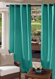 Sunbrella Curtains With Grommets by Custom Grommet Outdoor Drapes