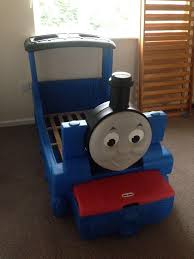 little tikes thomas the tank engine toddler bed in mansfield