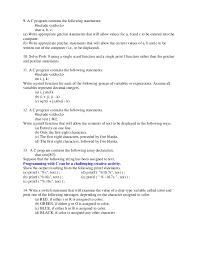 Revision1 C Programming